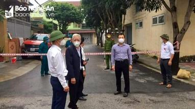 Xã Hưng Lộc (TP.Vinh) phong tỏa thêm 15 hộ dân khi có ca F1 thành F0