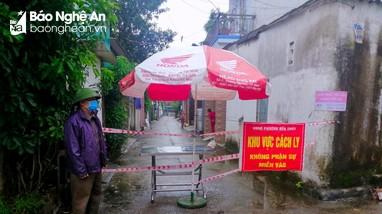 Phong tỏa 25 hộ dân phường Bến Thủy (TP Vinh) liên quan ca nhiễm Covid - 19 mới