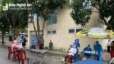 Phong tỏa thêm 23 hộ dân xã Hưng Lộc (TP. Vinh) liên quan đến ca dương tính mới