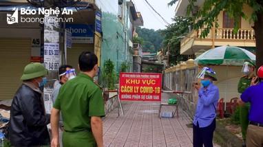 TP. Vinh: Phong tỏa thêm khu vực xuất hiện ca nhiễm Covid - 19 mới