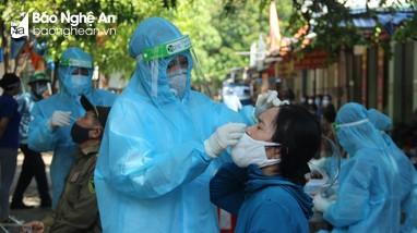 TP. Vinh phong tỏa 24 hộ dân liên quan đến các ca nhiễm Covid - 19 mới