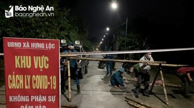 Chiều 24/10, Nghệ An ghi nhận 4 ca nhiễm Covid-19 mới