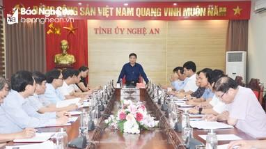 Phó Bí thư Thường trực Tỉnh ủy: Cần đánh giá mô hình Văn phòng cấp ủy dùng chung