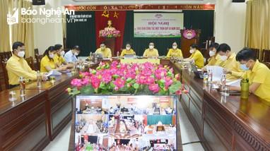 Ủy ban Mặt trận Tổ quốc Nghệ An dự giao ban toàn quốc quý III/2021