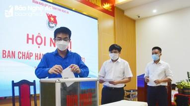 Bầu bổ sung Phó Bí thư Đoàn Khối Các cơ quan tỉnh Nghệ An, nhiệm kỳ 2017 – 2022