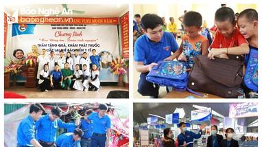 Lan tỏa tinh thần vì cộng đồng của Đoàn Thanh niên Khối Các cơ quan tỉnh Nghệ An