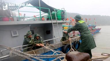 Nghệ An ra công điện khẩn cấm tàu thuyền ra khơi trong bão số 2