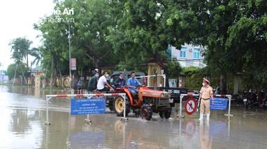 Đảm bảo giao thông xuyên suốt trên Quốc lộ 1A qua huyện Quỳnh Lưu