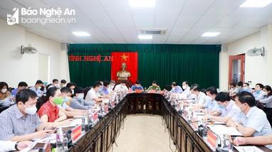 Bí thư Tỉnh ủy Thái Thanh Quý tiếp công dân phiên định kỳ tháng 8/2021