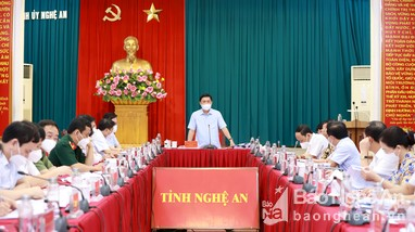 Ban Thường vụ Tỉnh ủy Nghệ An cho ý kiến về nhiệm vụ phát triển huyện Nam Đàn đến năm 2025