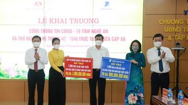 Nghệ An: Hỗ trợ mua 1.500 điện thoại thông minh cùng sim 4G giúp học sinh nghèo học trực tuyến