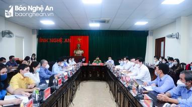 Chủ tịch UBND tỉnh Nghệ An tiếp công dân phiên định kỳ tháng 10