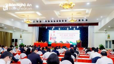 Khai mạc Kỳ họp thứ 3, HĐND tỉnh Nghệ An khóa XVIII