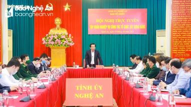Ban Tổ chức Tỉnh ủy tập huấn nghiệp vụ công tác tổ chức xây dựng Đảng