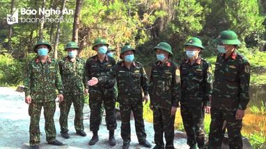 Bộ Chỉ huy Quân sự Nghệ An kiểm tra Sở Chỉ huy diễn tập khu vực tỉnh