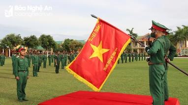 Bộ CHQS tỉnh tổ chức lễ tuyên thệ cho 180 chiến sỹ mới
