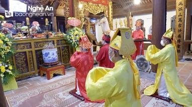 Nam Đàn tổ chức lễ giỗ Vua Mai