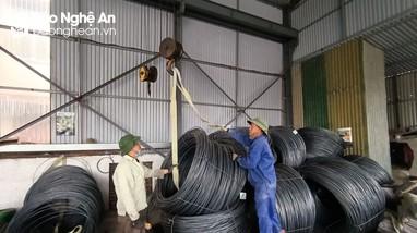 Giá thép xây dựng tại Nghệ An tăng vọt
