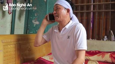 Xúc động chuyến bay của người bố mong kịp về nhìn con gái lần cuối ở Nghệ An