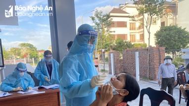 Chiều ngày 27/9, Nghệ An không ghi nhận ca nhiễm Covid-19 mới