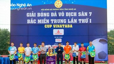 Khai mạc Giải bóng đá sân 7 Bắc miền Trung 2021 tại Nghệ An
