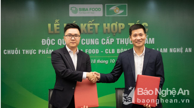SIBA FOOD Việt Nam độc quyền cung ứng thực phẩm sạch cho bếp ăn Sông Lam Nghệ An