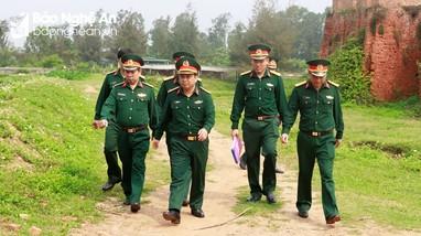 Rà soát quy hoạch phát triển kinh tế, xã hội gắn với bảo đảm thế trận quân sự khu vực phòng thủ