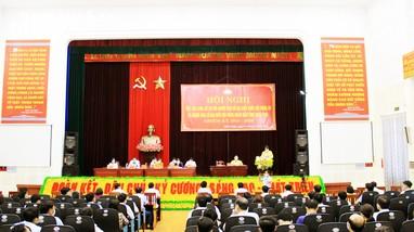 Ứng cử viên đại biểu Quốc hội và HĐND tỉnh vận động bầu cử tại huyện Diễn Châu