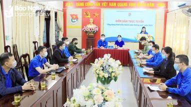 Nghệ An tổ chức diễn đàn 'Xây dựng hình mẫu thanh niên thời kỳ mới'