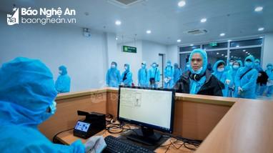 Lần đầu tiên Nghệ An tiếp nhận chuyến bay giải cứu công dân về nước tránh dịch Covid-19