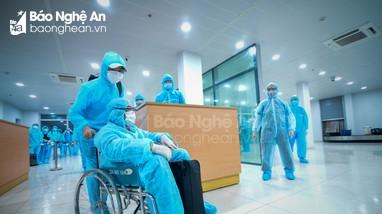 Sức khỏe 2 bệnh nhân Covid-19 điều trị tại Nghệ An tiến triển tốt