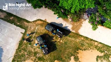 Video: Tâm dịch Covid - 19 ở Nghệ An từ góc nhìn flycam