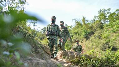 Nghệ An siết chặt tuyến biên giới để phòng dịch