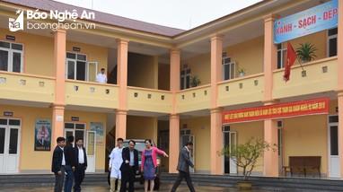 Khó trong xây dựng mô hình điểm trạm y tế ở Nghệ An