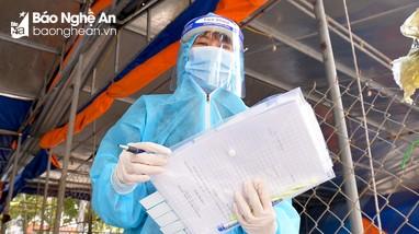 Thành phố Vinh: Cách ly, xét nghiệm Covid-19 một gia đình 4 người về từ Hải Dương