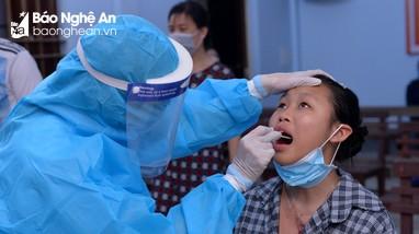 Sáng 23/10, Nghệ An ghi nhận 5 ca nhiễm Covid-19 mới, trong đó có 1 ca cộng đồng