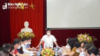 TP Vinh phát hiện ca bệnh Covid-19 đầu tiên, Nghệ An họp khẩn lúc rạng sáng