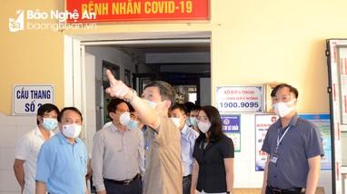 Nghệ An: Bệnh viện dã chiến dự kiến tiếp nhận bệnh nhân Covid-19 từ ngày 29/6