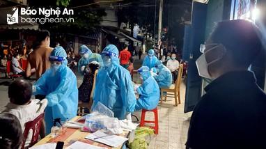 'Ổ dịch chợ đầu mối ở TP Vinh dự báo nguy cơ rất lớn'