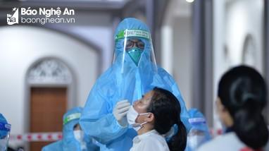 Chiều 26/10, Nghệ An có 13 ca nhiễm Covid-19 mới, đều được cách ly từ trước