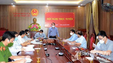 Khẩn trương kiểm soát, dập dịch Covid-19 tại 2 xã của huyện Nghi Lộc