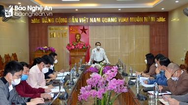Giám đốc Sở Y tế: Mở rộng xét nghiệm ở TP. Vinh; Giám sát chặt các nguồn lây ở Nghi Lộc