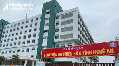Bệnh viện Dã chiến số 8 Nghệ An chính thức tiếp nhận bệnh nhân Covid-19