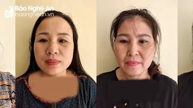 Bắt 4 phụ nữ cầm đầu đường dây lô, đề 'khủng' ở Nghệ An