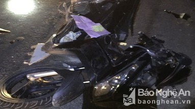 Truy tìm tài xế gây tai nạn chết người trên đường tránh Vinh