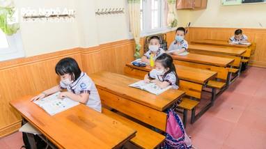 Trường học Nghệ An thực hiện nghiêm công tác phòng chống dịch
