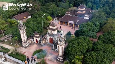 Ngày Xuân thăm ngôi đền ở xứ Nghệ được công nhận Di tích Quốc gia đặc biệt