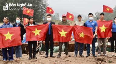 Nghệ An: Đồng loạt ra quân thực hiện các công trình, phần việc Tháng Thanh niên năm 2021