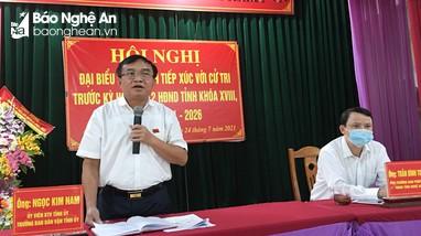 Đại biểu HĐND tỉnh tiếp xúc cử tri tại Đô Lương, Yên Thành