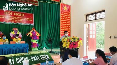 Phó Chủ tịch HĐND tỉnh Nguyễn Như Khôi tiếp xúc cử tri huyện Quỳ Hợp